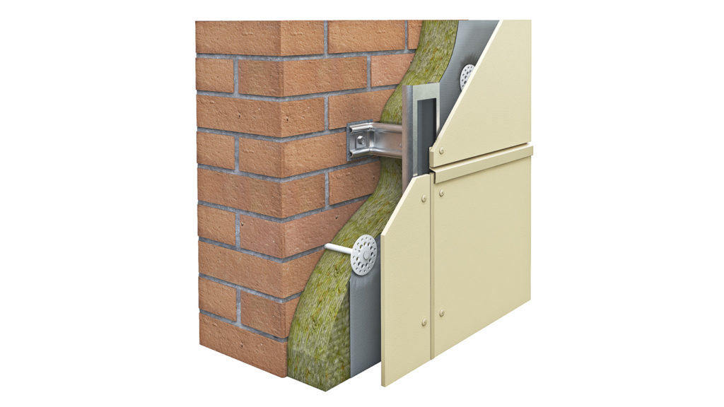 виды систем вентилируемых фасадов